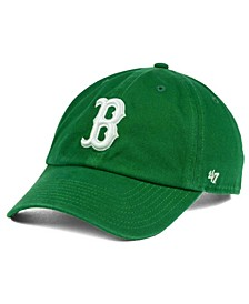 Boston Red Sox Kelly/White Clean Up Cap