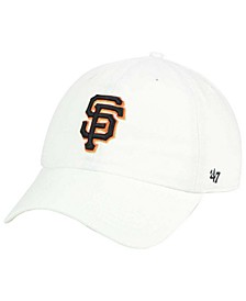 San Francisco Giants White Clean Up Cap