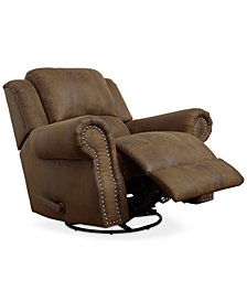 Akelee Swivel Glider Recliner, Quick Ship