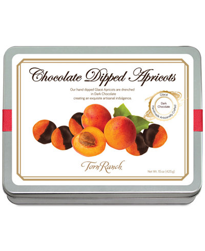 Torn Ranch Dark Chocolate-Dipped Apricots