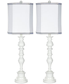 Safavieh Set of 2 Polly Candlestick Table Lamps