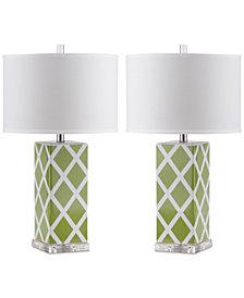 Safavieh Set of 2 Garden Table Lamps