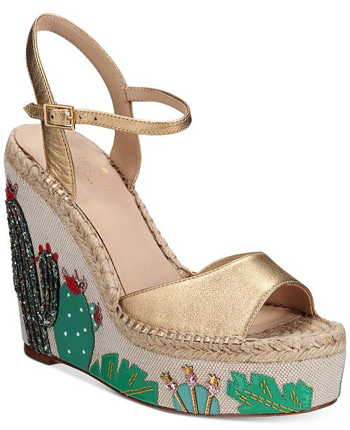9b55c74c53ed kate spade new york Dallas Wedge Sandals   Reviews - Sandals ...