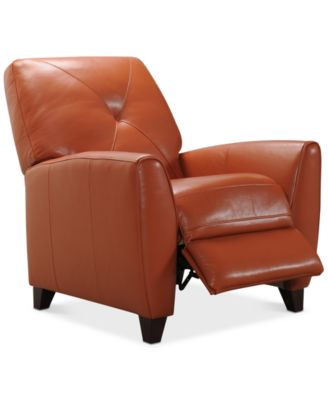 Attrayant Myia Leather Pushback Recliner, Created For Macyu0027s