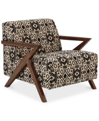 Vonna Printed Accent Chair, Created For Macyu0027s
