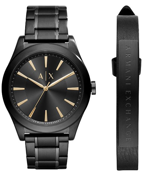 e3f9a0bfc ... A|X Armani Exchange Men's Stainless Steel Bracelet Watch 44mm AX7102  Gift ...