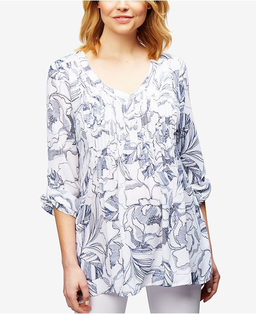 be1ad465ca Maternity Printed Blouse. Be the first to Write a Review. main image  main  image ...