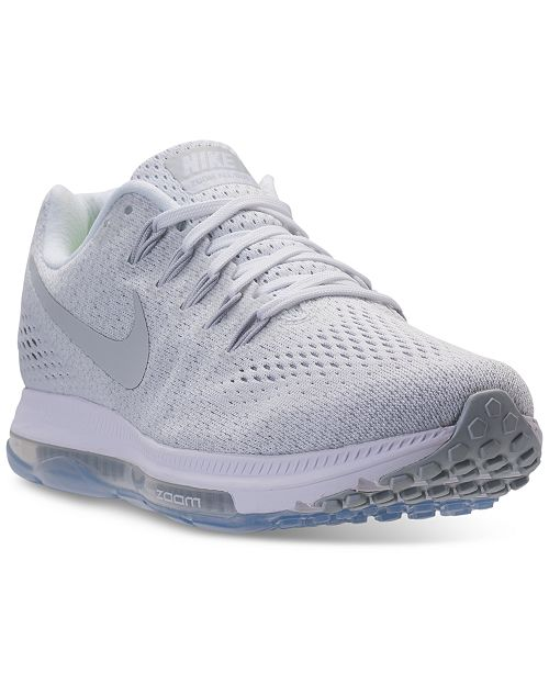 new product 89b0e fc0db ... Nike Women s Zoom All Out Low Running Sneakers from Finish ...