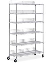 Honey Can Do 6-Tier Wheeled Shelving Unit