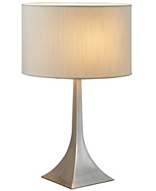 Adesso table lamp lamps light fixtures macys adesso luxor tall table lamp mozeypictures Images