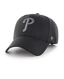 '47 Brand Philadelphia Phillies MVP Black and Charcoal Cap