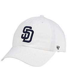 '47 Brand San Diego Padres White Clean Up Cap