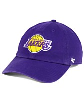 7285781b4ce  47 Brand Los Angeles Lakers Clean Up Cap