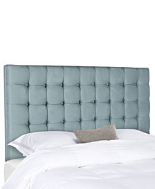 Zunis Queen Tufted Headboard, Quick Ship
