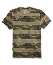 Men's Camo Stripe T-Shirt, Created for Macy's