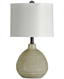 StyleCraft Accent  Ceramic Table Lamp