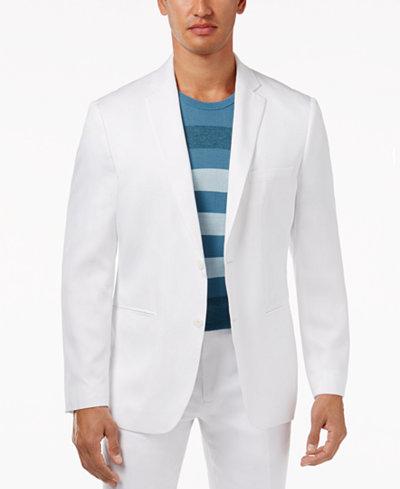 Alfani Men's Capsule Twill Sport Coat, Created for Macy's ...