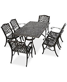 Kerine 7-Pc. Dining Set, Quick Ship