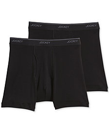 Jockey Big Man 2 pack Staycool+ Cotton Boxer Briefs