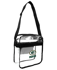 Little Earth Green Bay Packers Clear Ultimate Carryall