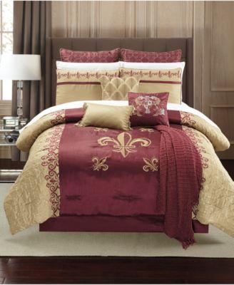 Bossier 14-Pc. Queen Comforter Set