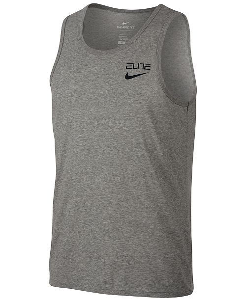 22388fe35 Nike Men s Dry Elite Basketball Tank Top   Reviews - T-Shirts - Men ...