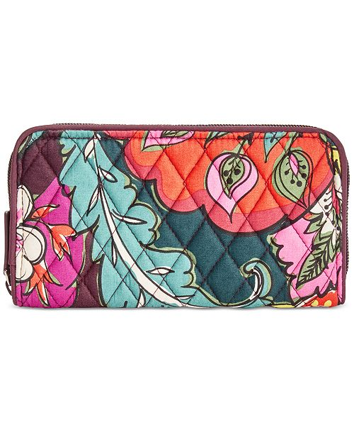 Vera Bradley RFID Georgia Wallet   Reviews - Handbags   Accessories ... c10df16eb185f