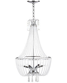 Safavieh Berlin Chrome Chandelier
