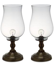 Set of 2 Blackburn Hurricane Table Lamps