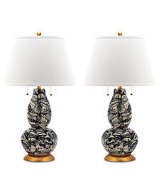 Safavieh Set of 2 Swirls Table Lamps