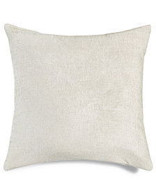 "LAST ACT! Hallmart Collectibles Off-White Textured 18"" Square Decorative Pillow"