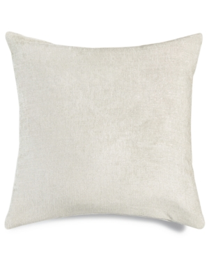 Hallmart Collectibles OffWhite Textured 18 Square Decorative Pillow Bedding