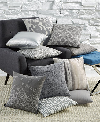 Hallmart Collectibles Gray Decorative Pillow Collection