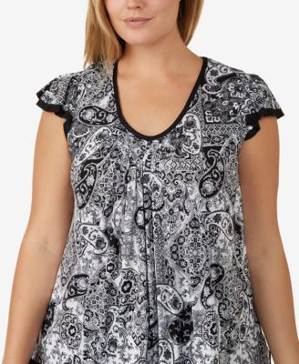 Plus Size Yours to Love Short Sleeve Top