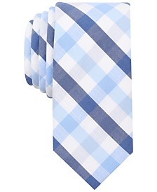 Bar Iii Men S Bold Multi Gingham Skinny Tie Created For Macy