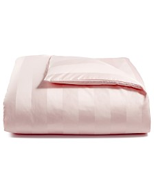 CLOSEOUT! Charter Club Damask Stripe King Duvet Cover, 100% Supima Cotton 550 Thread Count, Created for Macy's