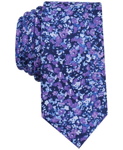 Bar III Men's Jackman Floral Slim Tie, Created for Macy's