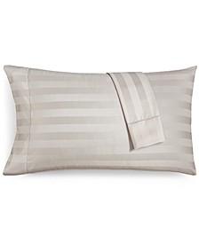 Stripe Standard Pillowcase Set, 550 Thread Count 100% Supima Cotton, Created for Macy's