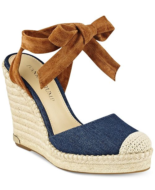 470c31dd00856f Ivanka Trump Winikka Espadrille Wedge Sandals   Reviews ...