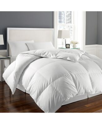 1000-Thread Count White Goose Down Twin Comforter