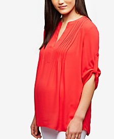 Maternity Split Blouse