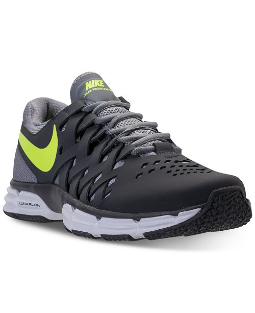 1921598d1ea Nike Men s Lunar Fingertrap TR Training Sneakers from Finish Line ...