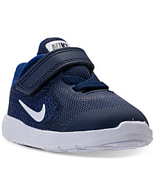 Nike Toddler Boys' Revolution 3 Stay-Put Closure Running Sneakers from Finish Line