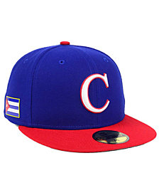 New Era Cuba World Baseball Classic 59FIFTY Cap