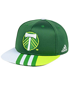 adidas Kids' Portland Timbers Authentic Snap Cap