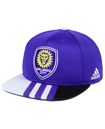 adidas Kids' Orlando City SC Authentic Snap Cap