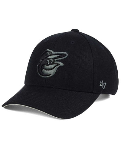 '47 Brand Baltimore Orioles MVP Black and Charcoal Cap