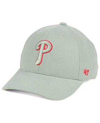 '47 Brand Philadelphia Phillies MVP Gray TC Pop Cap