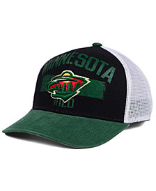 Reebok Minnesota Wild Truckn Adjustable Cap