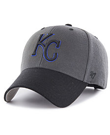 '47 Brand Kansas City Royals 2Tone Charcoal/Black Pop MVP Cap